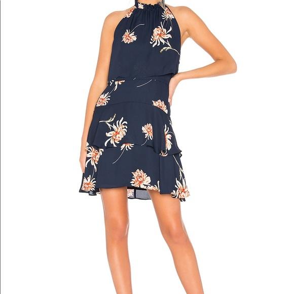 BB Dakota Dresses & Skirts - New BB Dakota navy floral dress